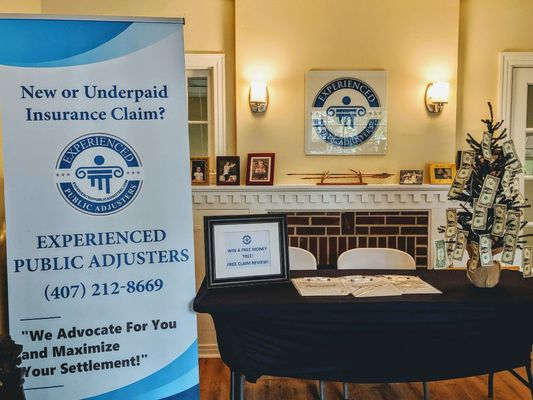 Public Adjuster and Homeowner Tradeshows