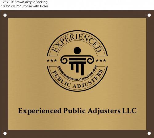 Experienced Public Adjuster Corporate Headquarter Sign