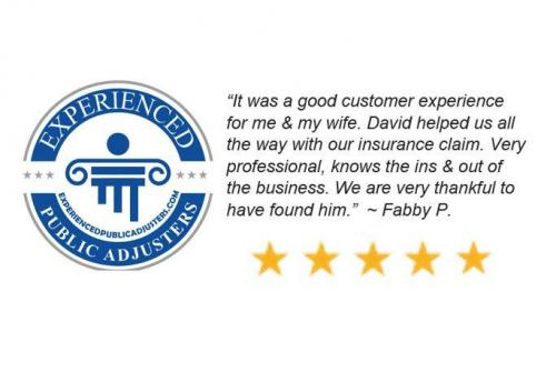 Experienced Public Adjusters Reaches Over 100 Google 5 Star Reviews